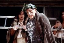 'TITUS ANDRONICUS' (Shakespeare)~Brian Cox (Titus Andronicus)~Royal Shakespeare Company / The Pit, Barbican Theatre   London              04/06/1988