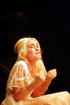 'TITUS ANDRONICUS' (Shakespeare - director: Gregory Doran)~Jennifer Woodburne (Lavinia)~Market Theatre, Johannesburg / West Yorkshire Playhouse, Leeds, England                    12/07/1995