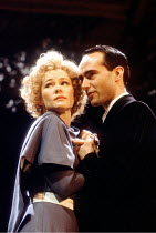 'THE TWO GENTLEMEN OF VERONA' (Shakespeare) Clare Holman (Julia), Barry Lynch (Proteus) Royal Shakespeare Company / Swan Theatre, Stratford-upon-Avon             04/1991