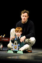 'THE WINTER'S TALE' (Shakespeare)~Alex Jennings (Leontes), Thomas Brown-Lowe (Mamilius)~Royal National Theatre/Olivier Theatre, London SE1  23/05/2001
