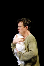 'THE WINTER'S TALE' (Shakespeare)~Alex Jennings (Leontes) with baby daughter~Royal National Theatre/Olivier Theatre, London SE1  23/05/2001