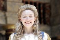 'THE WINTER'S TALE' (Shakespeare - director/'Master of Play': John Dove),IV/iv: Juliet Rylance (Perdita),Shakespeare's Globe, London SE1          15/06/2005            ,