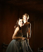 THE WINTER^S TALE   by Shakespeare   director: Dominic Cooke,Kate Fleetwood (Hermione), Edward Statham (Mamillius),part of RSC ^The Complete Works^ Festival - April 2006-March 2007,Swan Theatre, Strat...