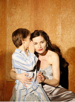 THE WINTER^S TALE   by Shakespeare   director: Dominic Cooke,Edward Statham (Mamillius), Kate Fleetwood (Hermione),part of RSC ^The Complete Works^ Festival - April 2006-March 2007,Swan Theatre, Strat...