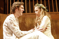 THE WINTER^S TALE   by Shakespeare   director: Dominic Cooke,Simon Harrison (Florizel), Michelle Terry (Perdita),part of RSC ^The Complete Works^ Festival - April 2006-March 2007,Swan Theatre, Stratfo...