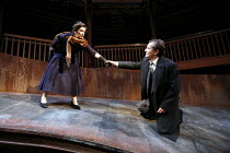 THE WINTER^S TALE   by Shakespeare   director: Dominic Cooke,Linda Bassett (Paulina), Anton Lesser (Leontes),part of RSC ^The Complete Works^ Festival - April 2006-March 2007,Swan Theatre, Stratford-u...