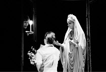 'THE WINTER'S TALE' (Shakespeare)~l-r: Janet Dale (Paulina), Jenifer Landor (Perdita), Lynn Farleigh (Hermione)~RSC/Regional Tour  1984
