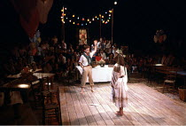 'THE WINTER'S TALE' (Shakespeare))~staged in-the-round~RSC The Pit/Barbican Centre, London EC1              1984 (Regional Tour)