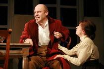 UNCLE VANYA   by Chekhov   adapted by Bryony Lavery   director: Rachel Kavanaugh <br>,John Ramm (Uncle Vanya), Jill Halfpenny (Sonya),Birmingham Repertory Theatre / Birmingham, England          28/03/...