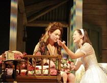 THE ROSE TATTOO   by Tennessee Williams   directors: Steven Pimlott & Nicholas Hytner <br>,l-r: Zoe Wanamaker (Serafina delle Rose), Susannah Fielding (Rosa delle Rose),Olivier Theatre / National Thea...
