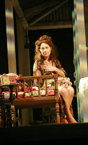 THE ROSE TATTOO   by Tennessee Williams   directors: Steven Pimlott & Nicholas Hytner <br>,Zoe Wanamaker (Serafina delle Rose),Olivier Theatre / National Theatre, London SE1                        29/...