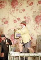 GIANNI SCHICCHI   by Puccini   conductor: Antonio Pappano   director: Richard Jones <br>,centre: Bryn Terfel (Gianni Schicchi),The Royal Opera / Covent Garden   London WC2     30/03/2007 ,