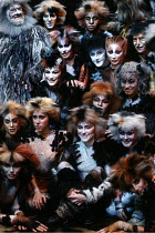 CATS based on T. S. Eliot's 'Old Possum's Book of Practical Cats' composer: Andrew Lloyd Webber design: John Napier lighting: David Hersey choreography: Gillian Lynne director Trevor Nunn ~1989 London...