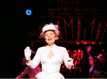 'GUYS AND DOLLS' (Loesser/Swerling/Burrows after Runyon)~Imelda Staunton (Miss Adelaide)~RNT/Olivier Theatre, London SE1        17/12/1996