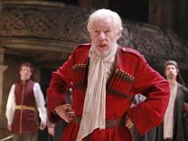 KING LEAR   by Shakespeare   director: Trevor Nunn <br>,Ian McKellen (King Lear),Royal Shakespeare Company (RSC),Courtyard Theatre, Stratford-upon-Avon, England                       03/04/2007,