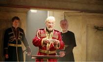 KING LEAR   by Shakespeare   director: Trevor Nunn <br>,I/i - Ian McKellen (King Lear),Royal Shakespeare Company (RSC),Courtyard Theatre, Stratford-upon-Avon, England                       03/04/2007,