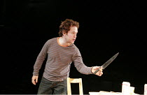 LANDSCAPE WITH WEAPON   by Joe Penhall   director: Roger Michell <br>,Tom Hollander (Ned),Cottesloe Theatre / National Theatre, London SE1                     05/04/2007,