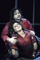 'IL TROVATORE' (Verdi - conductor: Edward Downes   director: Elijah Moshinsky) Irina Mishura (Azucena), Marco Berti (Manrico) The Royal Opera / Covent Garden   London WC2         03/05/2004