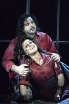 'IL TROVATORE' (Verdi - conductor: Edward Downes   director: Elijah Moshinsky)~Irina Mishura (Azucena), Marco Berti (Manrico)~The Royal Opera / Covent Garden   London WC2         03/05/2004
