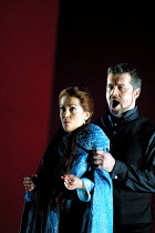 'IL TROVATORE' (Verdi)~Sandra Ford (Leonora), David Kempster (Count of Luna)~English National Opera, London   09/04/2001