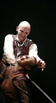 MACBETH by Shakespeare  director: Conall Morrison  ~Patrick O'Kane (Macbeth), Sarah Malin (Witch)~Royal Shakespeare Company (RSC), Swan Theatre, Stratford-upon-Avon, England  17/04/2007