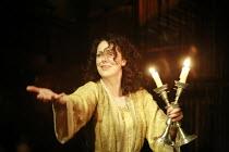MACBETH by Shakespeare  director: Conall Morrison  ~V/i  - sleepwalking scene: Derbhle Crotty (Lady Macbeth)~Royal Shakespeare Company (RSC), Swan Theatre, Stratford-upon-Avon, England  17/04/2007
