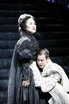 CORIOLANUS   by Shakespeare   director: Yukio Ninagawa ,Kayoko Shiraishi (Volumnia), Toshiaki Karasawa (Caius Martius Coriolanus),The Ninagawa Company / BITE:07 / Barbican Theatre, London EC2   25/04/...