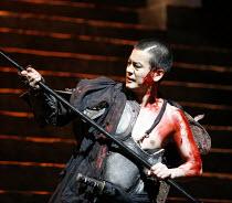 CORIOLANUS   by Shakespeare   director: Yukio Ninagawa ,Toshiaki Karasawa (Caius Martius Coriolanus),The Ninagawa CompanyBITE:07 / Barbican Theatre, London EC2   25/04/2007             ,