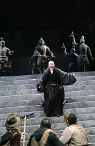 CORIOLANUS   by Shakespeare   director: Yukio Ninagawa <br>,Kotaro Yoshida (Menenius Agrippa),The Ninagawa Company / BITE:07 / Barbican Theatre, London EC2   25/04/2007             ,