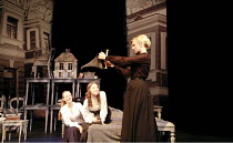 THREE SISTERS   by Chekhov   director: Declan Donnellan   designer: Nick Ormerod <br>,l-r: Evgenia Dmitrieva (Olga), Nelly Uvarova (Irina), Irina Grineva (Masha),Cheek by Jowl / Cambridge Arts Theatre...