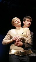 LEAVES OF GLASS   by Philip Ridley   director: Lisa Goldman ~Maxine Peake (Debbie), Ben Whishaw (Steven)~Soho Theatre, London W1            08/05/2007