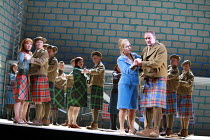 MACBETH   music: Verdi   libretto: Piave   after Shakespeare   ,conductor: Vladimir Jurowski   director: Richard Jones <br>,front right: Sylvie Valayre (Lady Macbeth), Andrzej Dobber (Macbeth),Glyndeb...