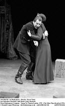 MACBETH  by Shakespeare  design: John Napier  lighting: Leo Leibovici  director: Trevor Nunn Ian McKellen (Macbeth), Judi Dench (Lady Macbeth),Royal Shakespeare Company (RSC)   Young Vic Theatre,Londo...