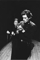 MACBETH  by Shakespeare  design: John Napier  lighting: Leo Leibovici  director: Trevor Nunn ~Judi Dench (Lady Macbeth), Ian McKellen (Macbeth)~Royal Shakespeare Company   The Other Place / Stratford-...
