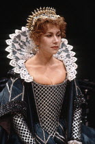 THE DUCHESS OF MALFI   by Webster   director: Adrian Noble   design: Bob Crowley ~,Helen Mirren (The Duchess),Royal Exchange, Manchester    09/1980        Roundhouse, London NW1   04/1981 ~(c) Donald...