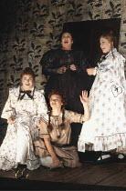 INTO THE WOODS   music & lyrics: Stephen Sondheim   book: James Lapine   ,director: Richard Jones   set design: Richard Hudson   costume design: Sue Blane <br>,l-r: Liza Sadovy (Lucinda), (seated) Jac...