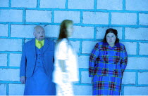 MACBETH   music: Verdi   libretto: Piave   after Shakespeare  conductor: Vladimir Jurowski   director: Richard Jones <br>,sleepwalking scene, l-r: Richard Mosley-Evans (Doctor), (centre) Sylvie Valayr...