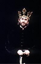 MACBETH  by Shakespeare  design: Bob Crowley  lighting: Mark Henderson  director: Adrian Noble ~Jonathan Pryce (Macbeth)~Royal Shakespeare Company (RSC), Royal Shakespeare Theatre, Stratford-upon-Avon...