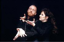 'MACBETH' (Shakespeare),Keith Bartlett (Macbeth), Leslee Udwin (Lady Macbeth),Cheek by Jowl / Donmar Warehouse, London WC2  16/11/1987,