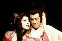 'MACBETH' (Shakespeare),Komaki Kurihara (Lady Macbeth), Masane Tsukayama (Macbeth),Ninagawa Theatre Company / Lyttelton Theatre/National Theatre, London                     17/09/1987,