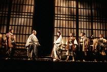 'MACBETH' (Shakespeare - director: Yukio Ninagawa   design: Kappa Senoh),,National Theatre, London SE1          1987,