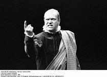 MACBETH  by Shakespeare  design: Bob Crowley  lighting: Mark Henderson  director: Adrian Noble ~,Colin McCormack (Macduff) ~Royal Shakespeare Company (RSC)  1989