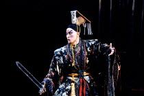 THE KINGDOM OF DESIRE by Lee Huei-min after Shakespeare's 'Macbeth' set design: Deng Kuen-yen & Chang Yi-cheng costumes: Lin Ching-ru lighting: Lin Keh-hua director: Wu Jing-jyi ~Wu Hsing-kuo (Au-shu...