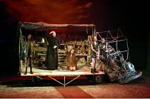 'MACBETH' (Shakespeare - director: Bill Alexander   design: Ruari Murchison),l-r: Rakie Ayola (First Witch), Linda Spurrier (The Nurse), Annie Farr (Second Witch), Katherine Oliver (Third Witch),Birmi...