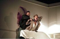 'MACBETH' (Shakespeare - director: Bill Alexander),IV/ii - murder of Lady Macduff (Amanda Harris),Birmingham Repertory Theatre, England                19/09/1995,