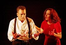 'MACBETH' (Shakespeare),Jeffery Kissoon (Macbeth), Lucy Cohu (Lady Macbeth),Birmingham Repertory Theatre, England                 19/09/1995,