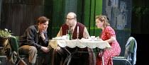 FIDELIO   by Beethoven   conductor: Antonio Pappano   director: J�rgen Flimm <br>,l-r: Karita Mattila (Leonore), Eric Halfvarson (Rocco), Ailish Tynan (Marzelline),The Royal Opera / Covent Garden   Lo...