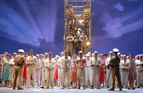 FIDELIO   by Beethoven   conductor: Antonio Pappano   director: J�rgen Flimm <br>,freed prisoners and families,The Royal Opera / Covent Garden   London WC2                      27/05/2007  ,
