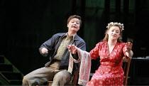 FIDELIO   by Beethoven   conductor: Antonio Pappano   director: J�rgen Flimm <br>,l-r: Karita Mattila (Leonore), Ailish Tynan (Marzelline),The Royal Opera / Covent Garden   London WC2...