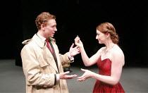CYMBELINE   by Shakespeare   director: Declan Donnellan <br>,Tom Hiddleston (Posthumus), Jodie McNee (Imogen),Cheek by Jowl / Barbican Theatre, London EC2        29/05/2007,